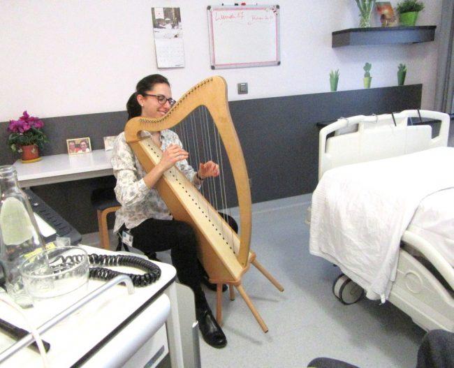 Giussano, torna l&#8217&#x3B; arpaterapia all&#8217&#x3B; hospice