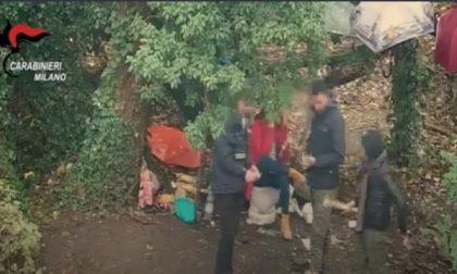 Spaccio al Parco delle Groane, dieci arresti  VIDEO