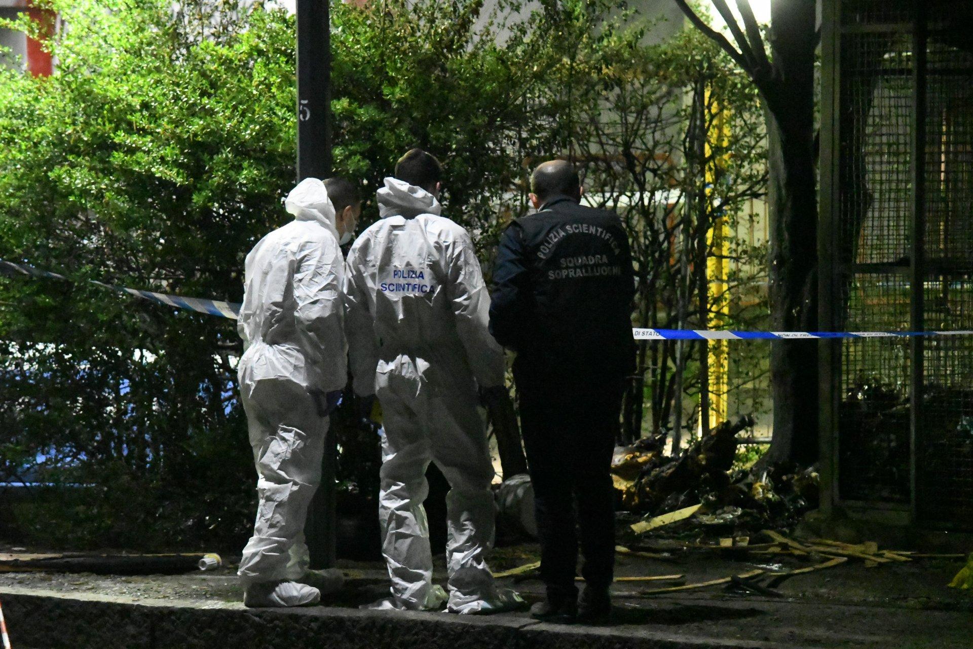 Cadavere mutilato, decapitato e bruciato in strada FOTO E VIDEO