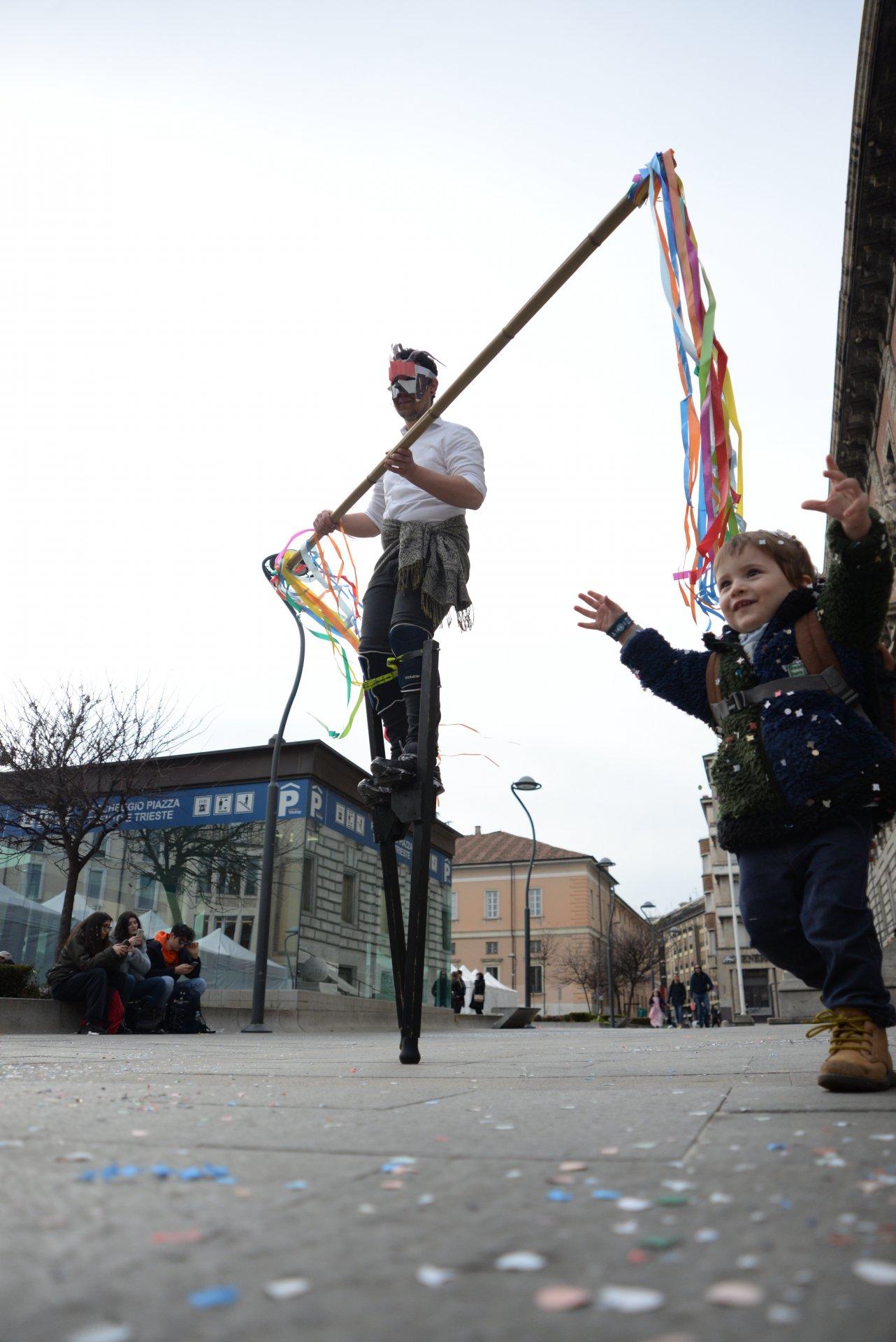 Carnevale a Monza, gli eventi in piazza Trento