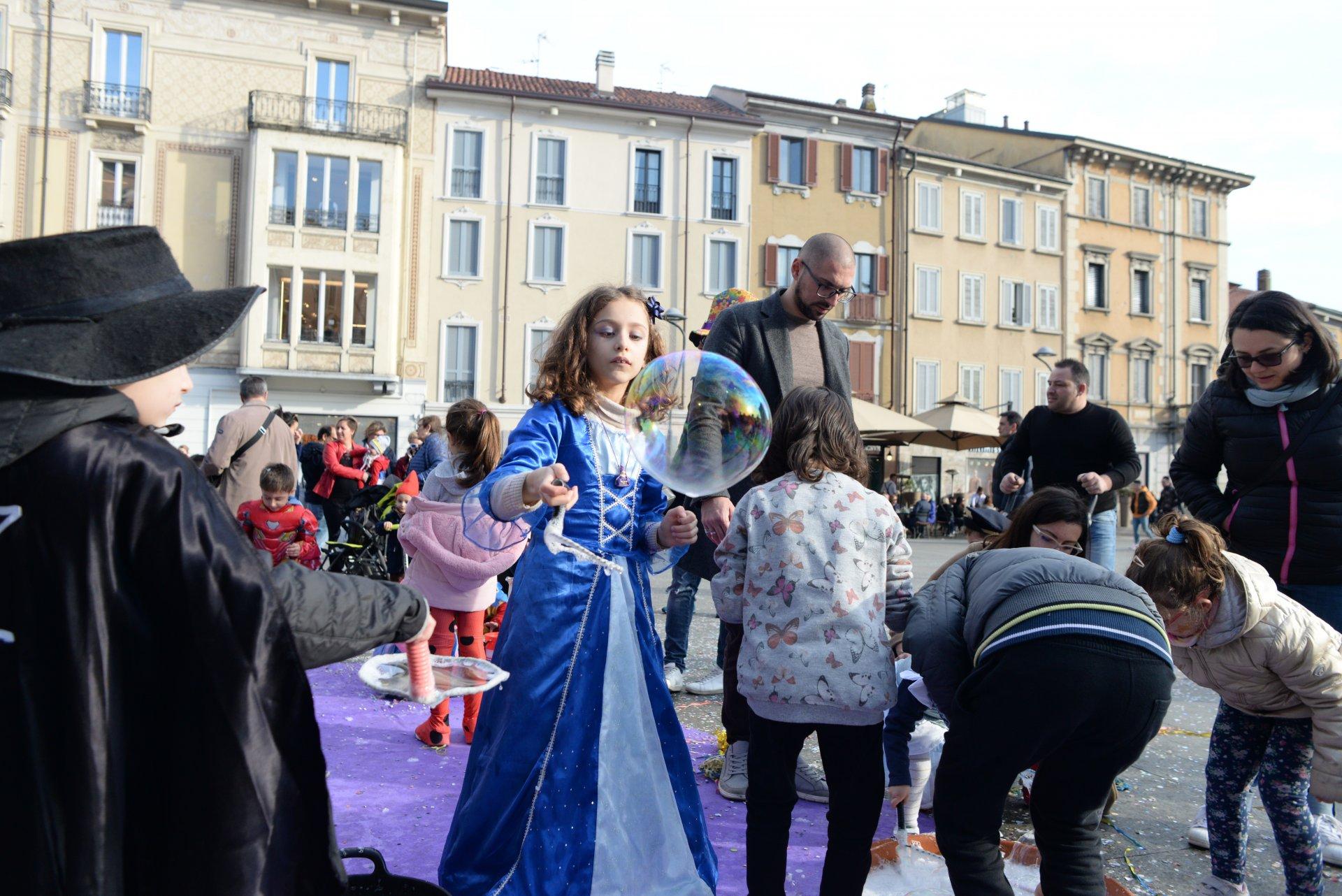 Carnevale bis a Monza, eventi per i bimbi e giochi antichi FOTO