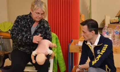 Pronto soccorso pediatrico, corso gratuito al nido di Carate