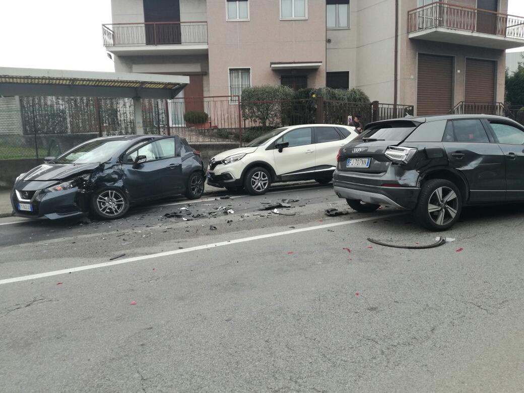 Incidente via puccini Briosco