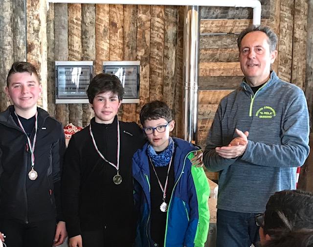 giussano studenti premiati gare di sci