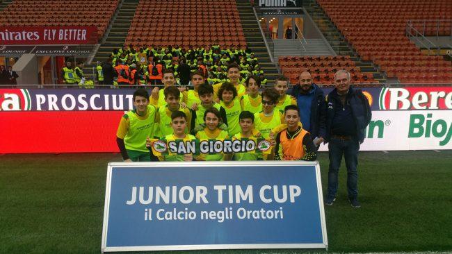 Il San Giorgio Limbiate gioca a San Siro prima del derby FOTOGALLERY