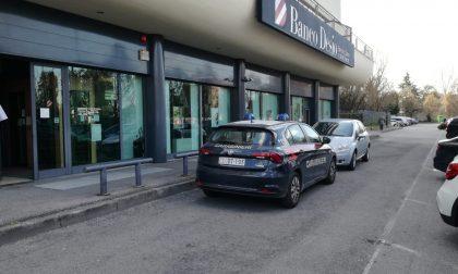 Rapina in banca a Brugherio