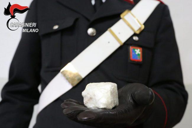 Scappa dai Carabinieri: spacciatore beccato con un &#8220&#x3B;sasso&#8221&#x3B; di cocaina
