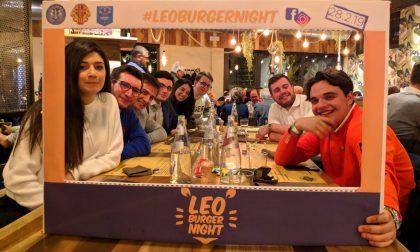 Un hamburger solidale per il Leo club