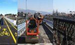 Venerdì il ponte di Paderno riapre a pedoni e bici