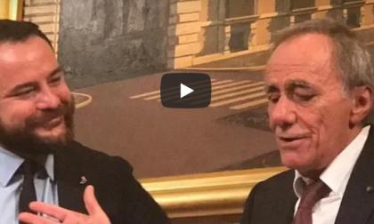 Roberto Vecchioni al Senato per la prima volta su iniziativa del vimercatese Rampi VIDEO