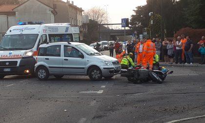 Seveso, elisoccorso a Baruccana: travolto un motociclista – FOTO