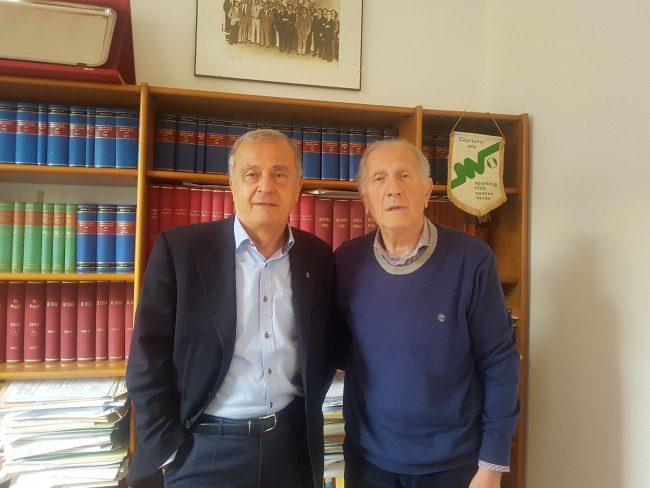 Trezzi e professor Cassina (Giussano)