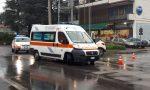 Incidente a Seveso, giovane centauro finisce in ospedale FOTO