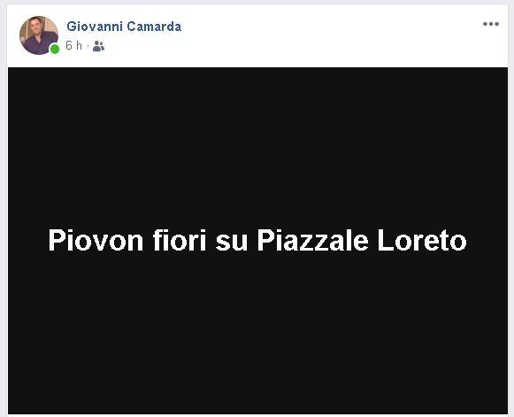 Lissone Giovanni Camarda Fratelli d'Italia Duce