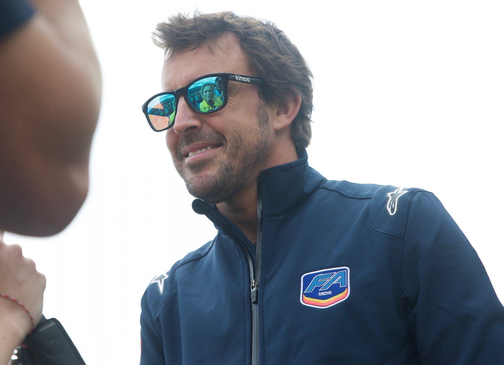 Fernando Alonso a Monza 3 ore Blancpain