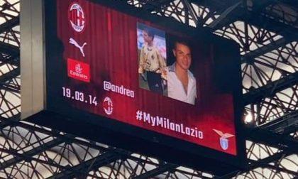 Il Milan manda il proprio saluto a Gariele di Guida