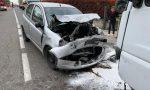 Frontale tra auto e furgone, una 64enne in pericolo di vita FOTO