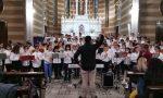 Gli alunni del comprensivo Ai nostri caduti di Trezzo in concerto nella chiesa di Concesa