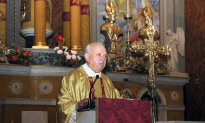 Giussano, addio a monsignor Angelo Sala
