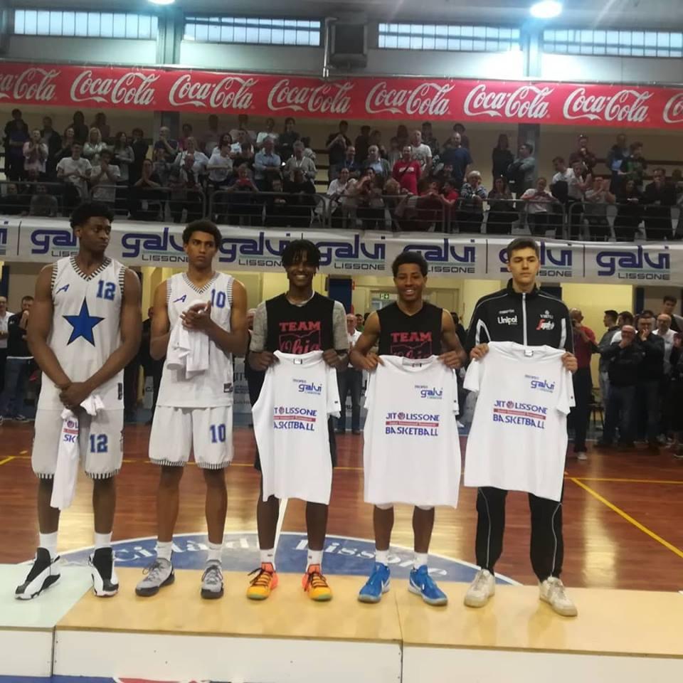 Quintetto ideale torneo Lissone pallacanestro