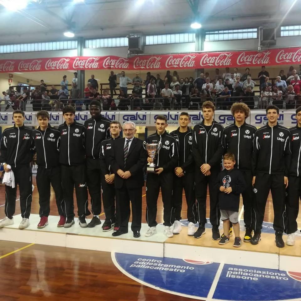 Virtus Bologna terza al torneo di Lissone pallacanestro