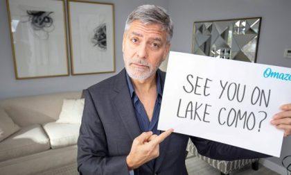 George Clooney e la moglie mettono all'asta una cena con loro sul Lago