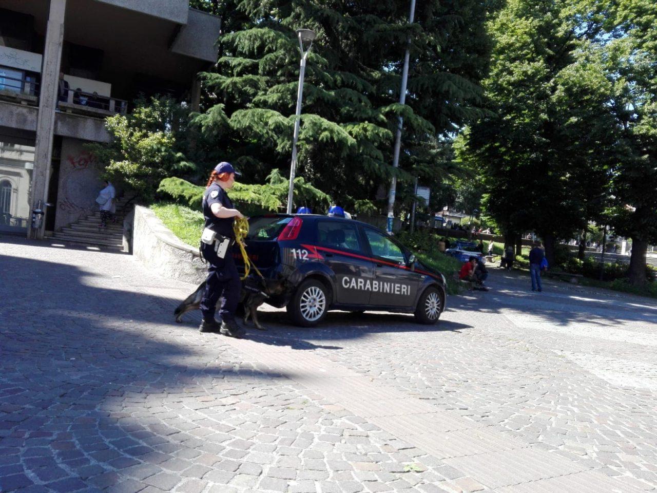 Maxi blitz stazione Monza