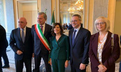 Il presidente del Senato Elisabetta Casellati a Monza per incontrare gli imprenditori