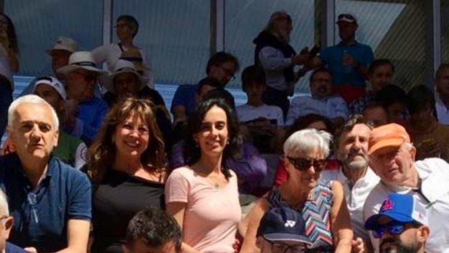 Giussanesi al Mutua Madrid Open per tifare Fognini