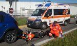 Scontro con la moto ferito un giovane