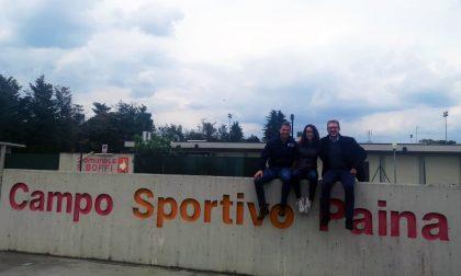 Giussano, Antonio Rossi e Martina Cambiaghi in città per il candidato Marco Citterio