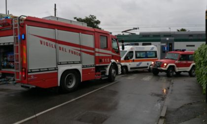 Bovisio: travolto dal treno muore un 55enne FOTO
