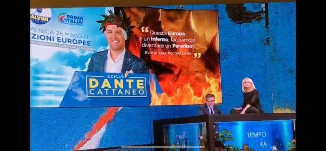 Littizzetto ironizza su Dante Cattaneo, che replica: &#8220&#x3B;Niente lezioni da milionari radical chic&#8221&#x3B;