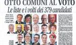Sul Giornale di Carate oggi in edicola tutti i volti dei candidati alle elezioni amministrative