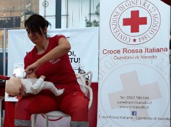 Varedo: la Croce Rossa organizza un corso di manovre salvavita pediatriche