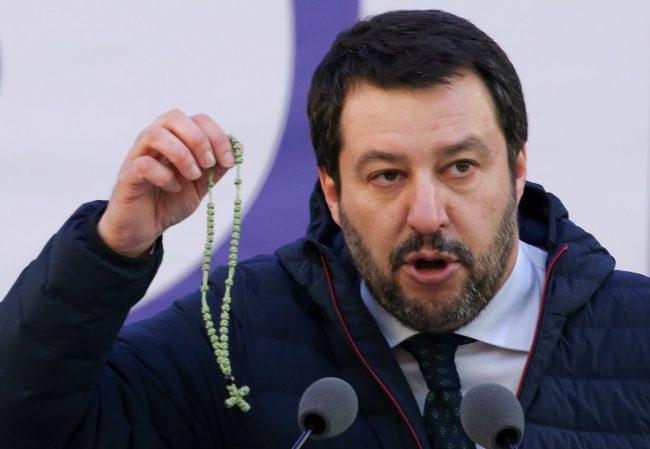 I missionari comboniani: &#8220&#x3B;Indignati dal rosario elettorale di Salvini&#8221&#x3B;