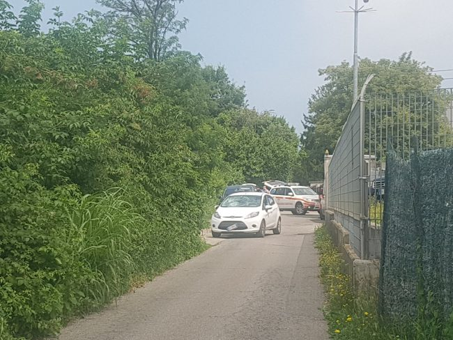 incidente via Turati Giussano