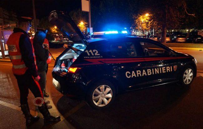 Guida in stato di ebbrezza nel mirino dei carabinieri, quattro denunciati