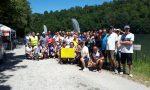 Sfida benefica lungo l'Adda per la Pescatori Tritium