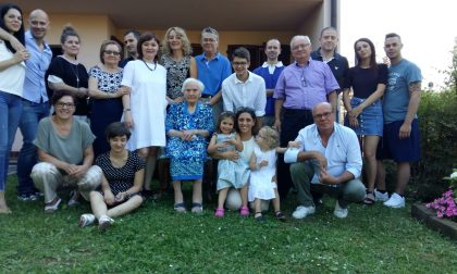 Compleanno da record a Besana, nonna Nannina spegne 108 candeline