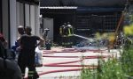 Paura a Giussano per un incendio in via Petrarca VIDEO