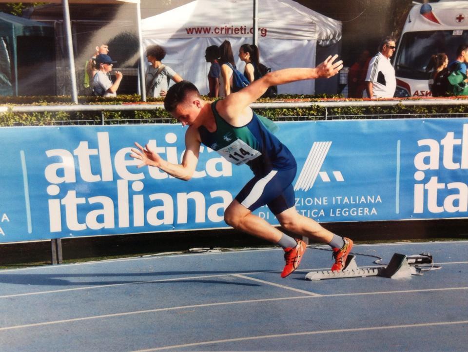 atleti atletica Aliprandi Nazionali a Rieti