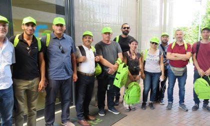 Raccolta rifiuti, delegazione del Libano in visita alla sede di Gelsia Ambiente