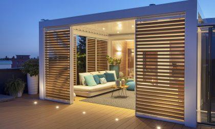 Tende da sole e pergole bioclimatiche per un outdoor di design