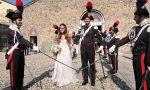 Matrimonio con picchetto per il sì del carabiniere scelto LE FOTO
