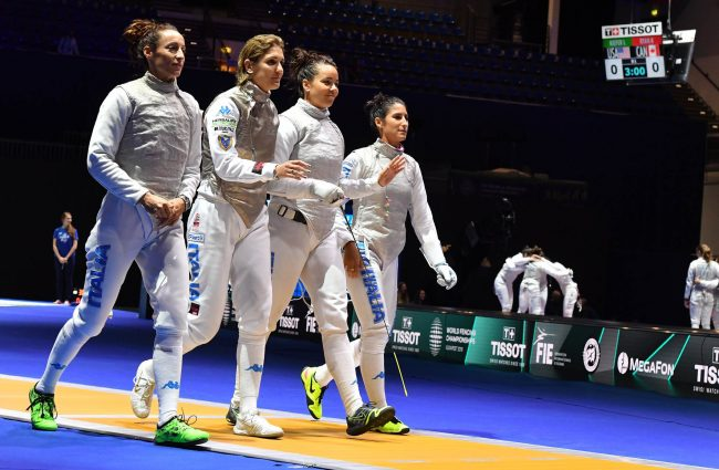 L'Italia di Arianna Errigo si ferma in finale