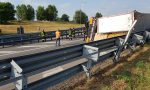 Camion si ribalta, grave incidente ad Agrate GALLERY