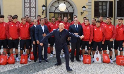Silvio Berlusconi tiene a battesimo il nuovo Monza