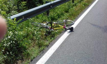 E' morto uno dei due ciclisti investito a Lentate FOTO