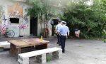 Sgombero fabbrica in disuso occupata da venti rom FOTO